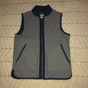 Grey and Navy Gymboree vest